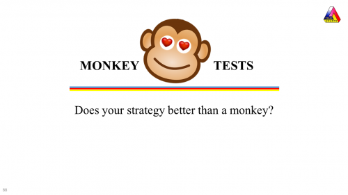 Monkey Tests in AmiBroker and Excel