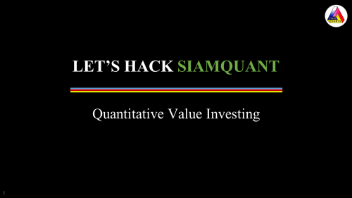 Quantitative Value Investing