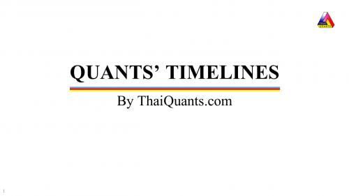 quants-timelines