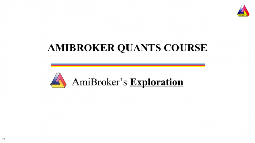 amibroker-exploration