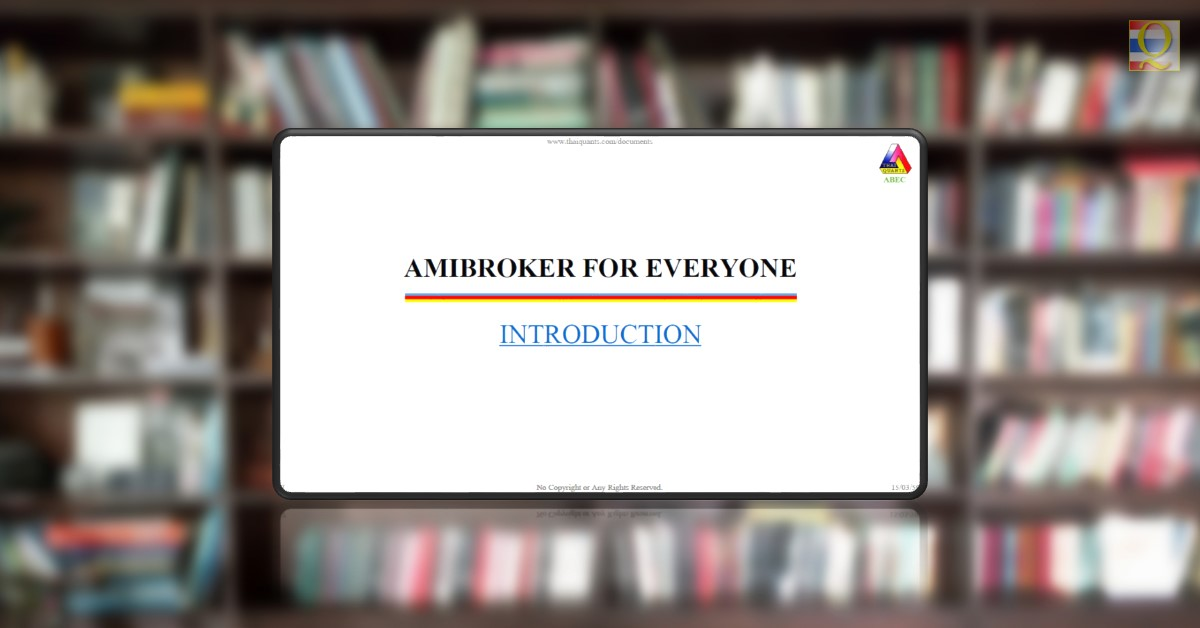 AmiBroker for Everyone