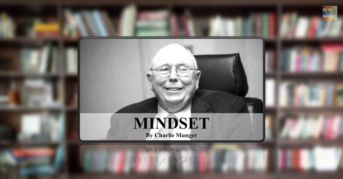 Mindset by Charlie Munger