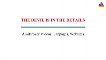 AmiBroker Links